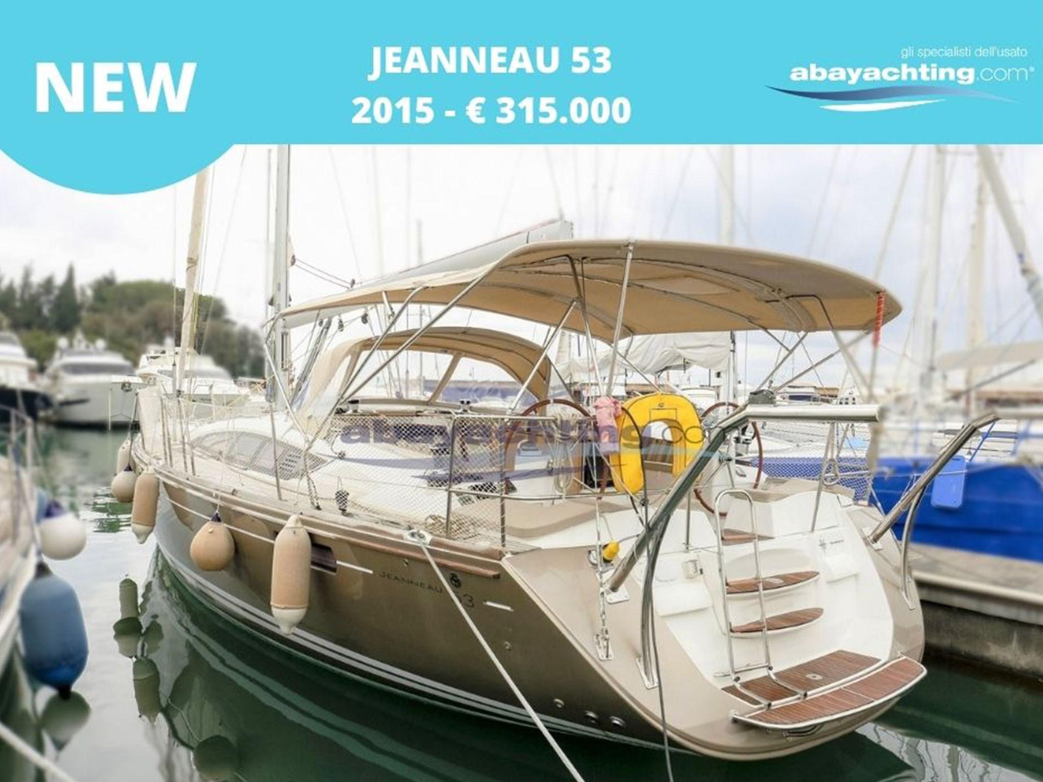 New arrival Jeanneau 53