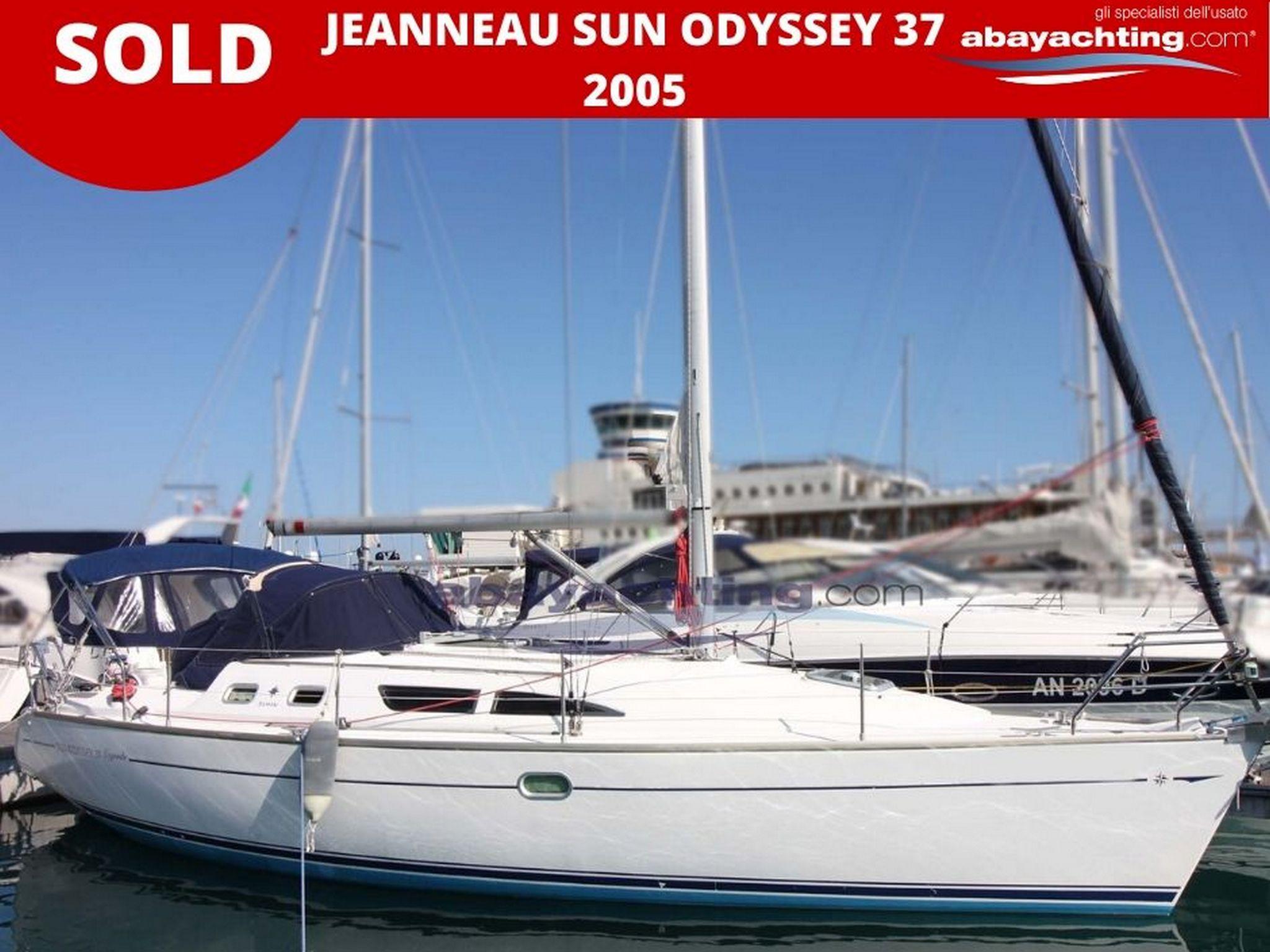 Jeanneau Sun Odyssey 37 vendu