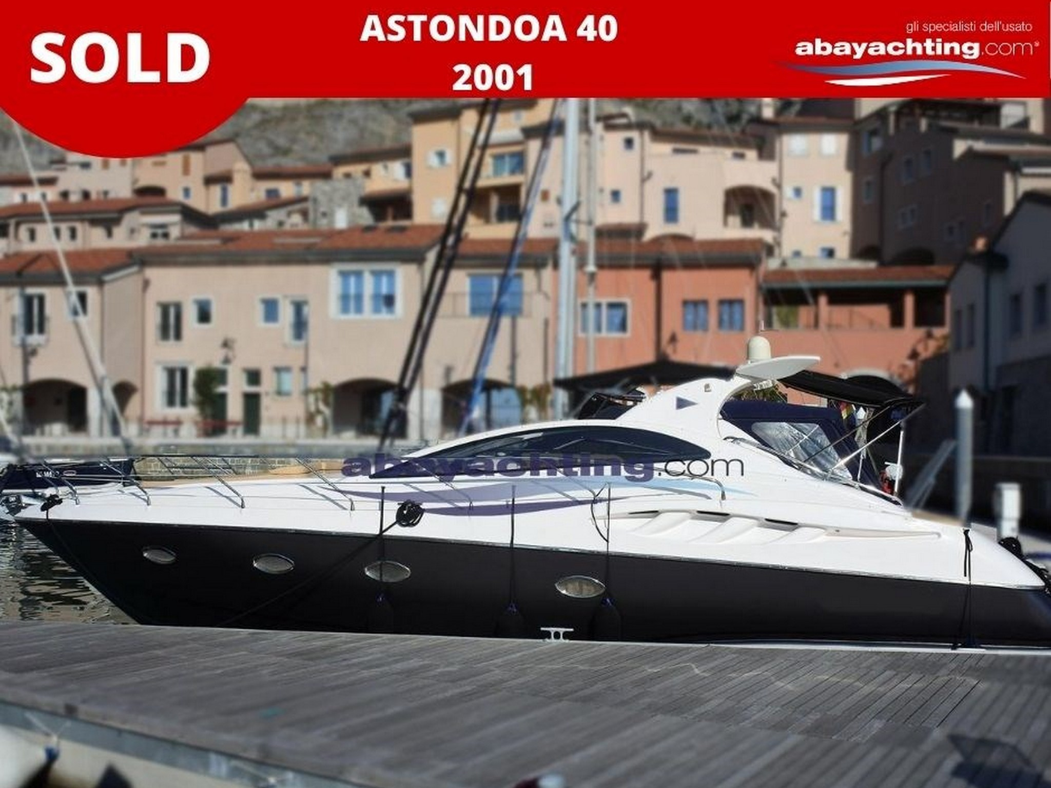Astondoa 40 venduto