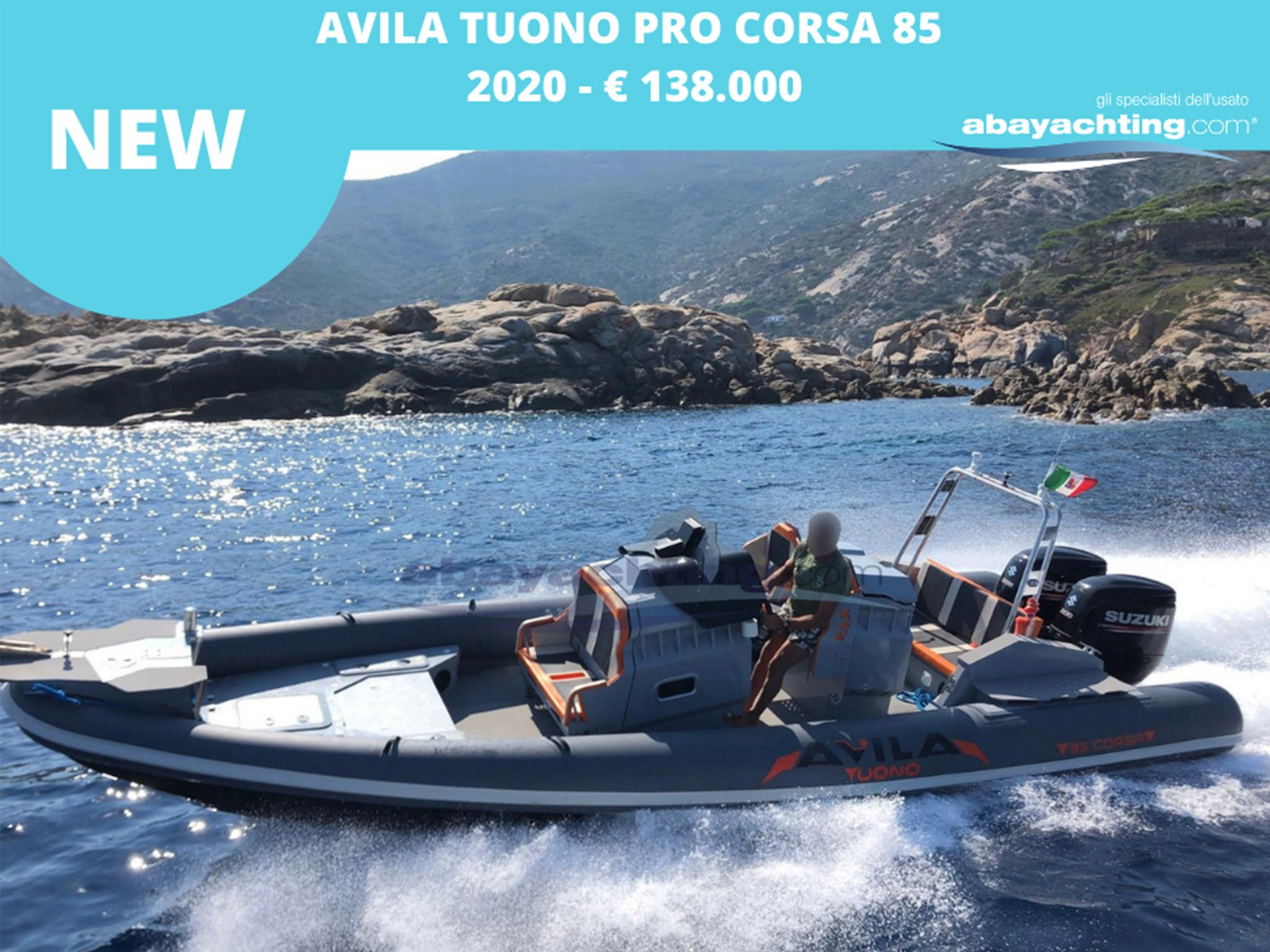 NEW ARRIVAL AVILA TUONO TYPE 8 PRO CORSA 85