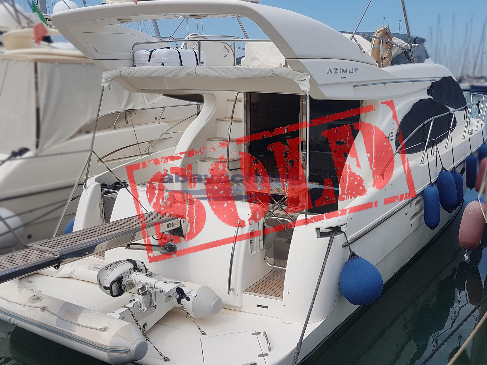 Azimut 46 sold