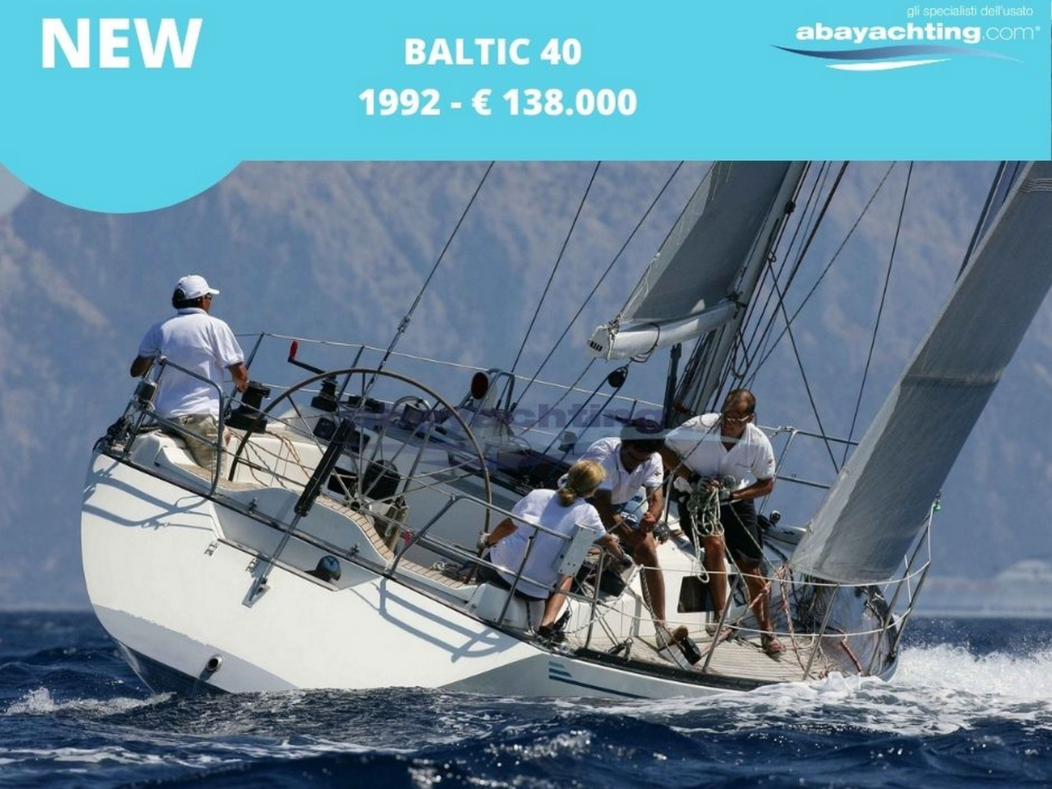 New arrival Baltic 40