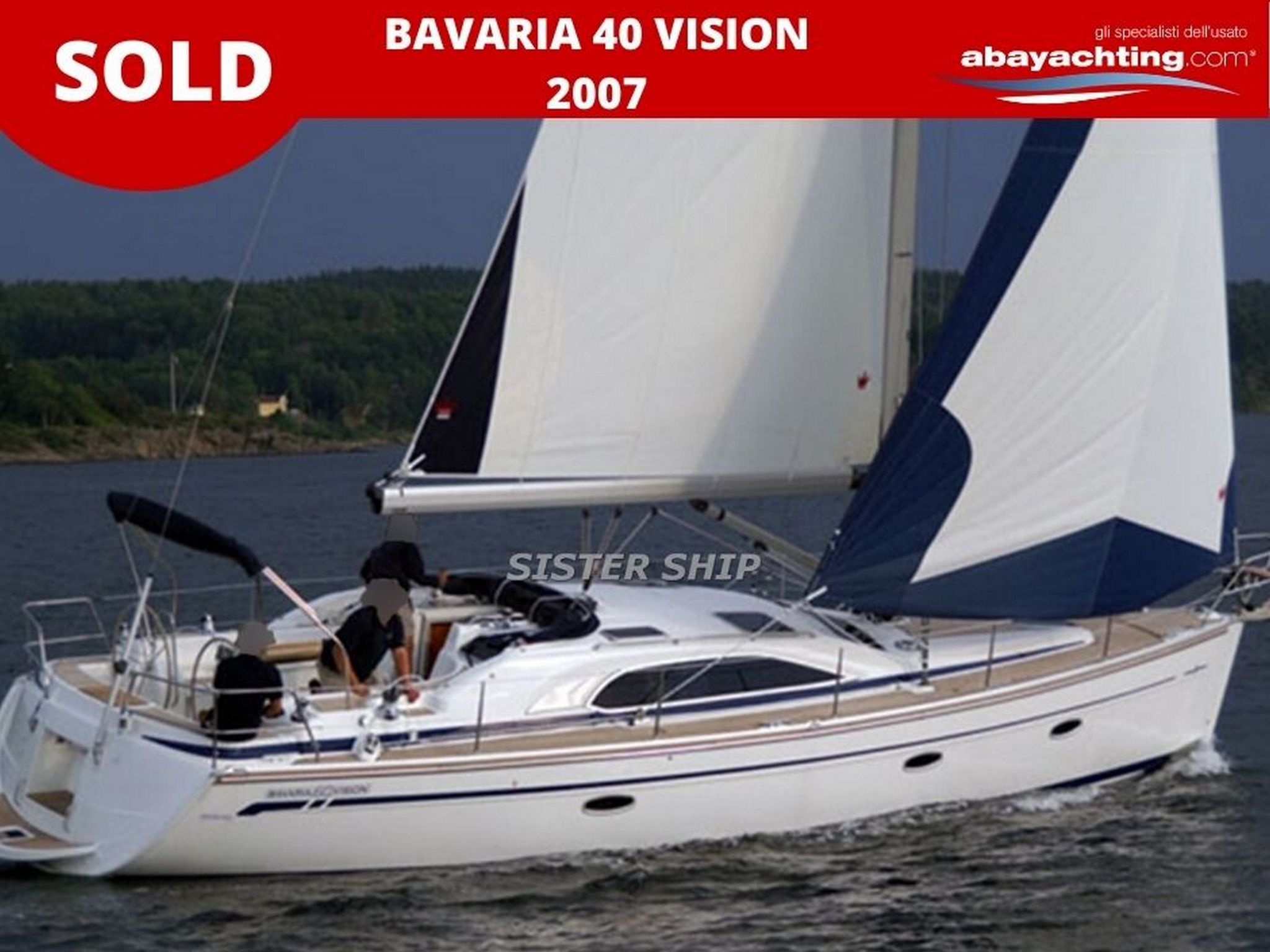 Bavaria 40 Vision sold