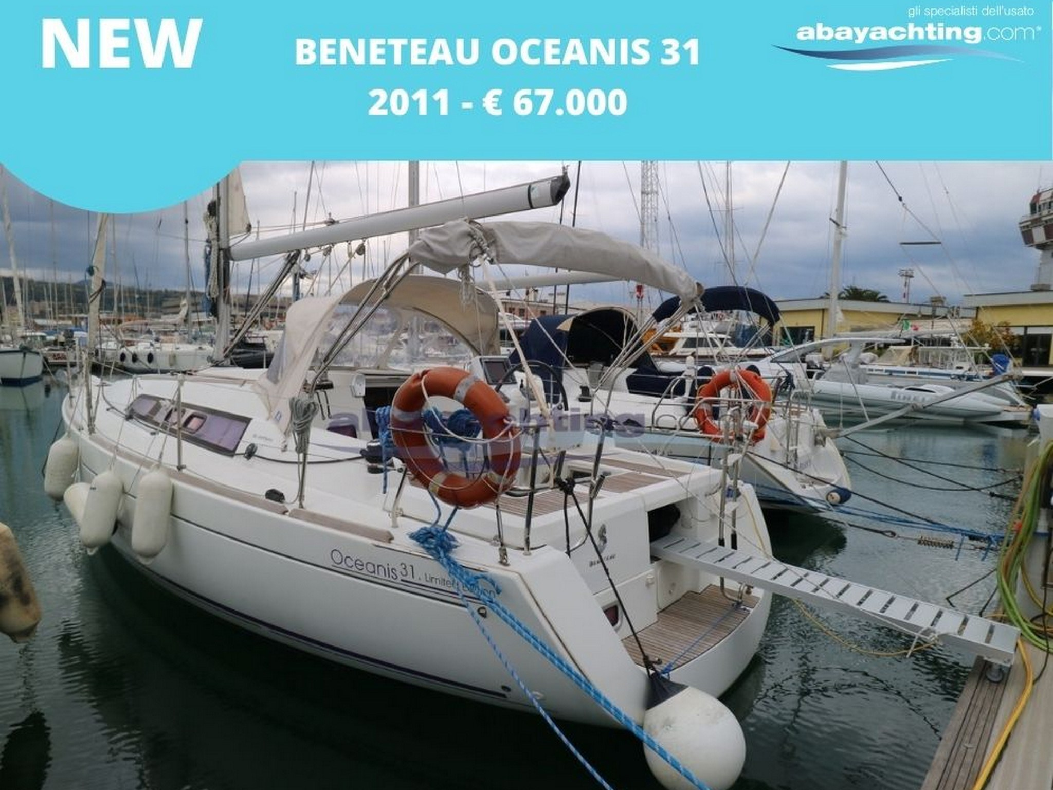 New arrival Beneteau Oceanis 31 Limited Edition