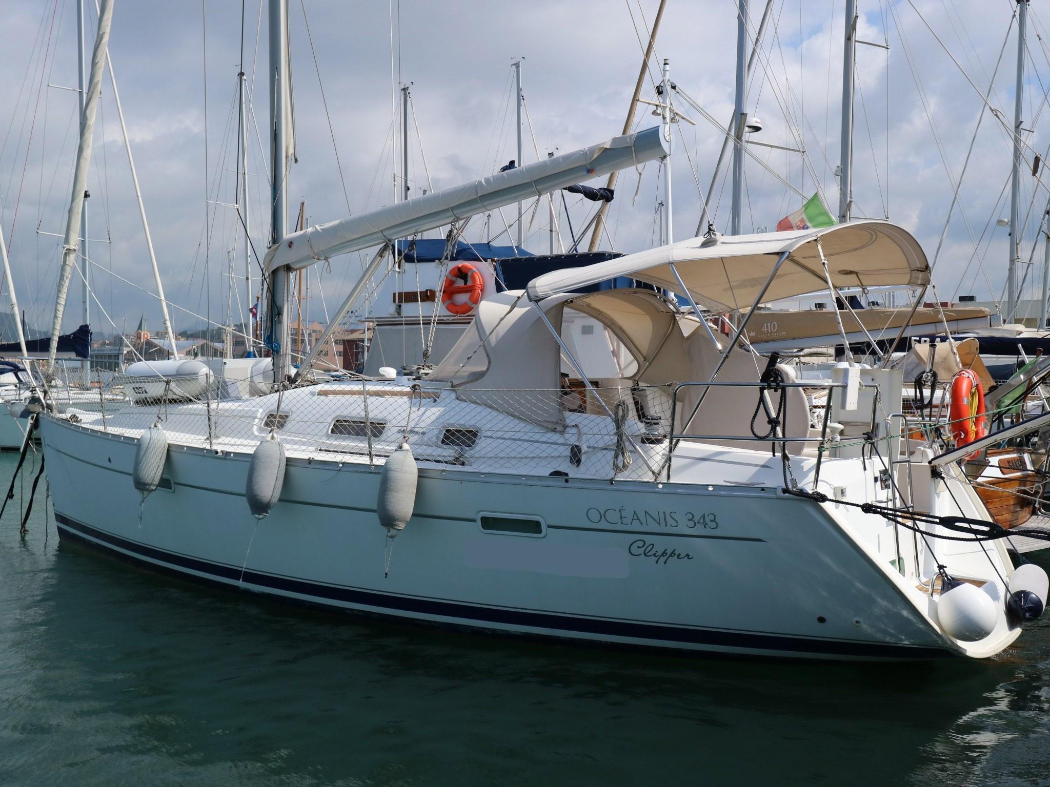 New arrival Beneteau Oceanis Clipper 343