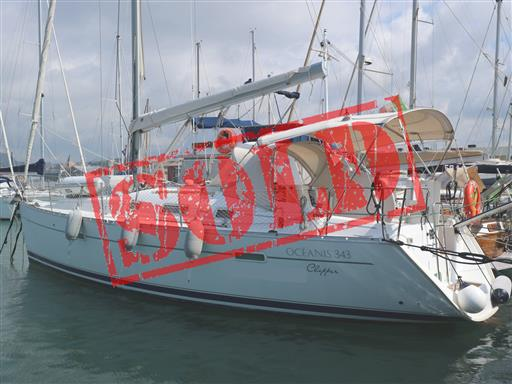 Beneteau Oceanis 343 venduto
