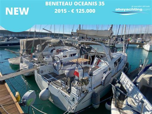 New arrival Beneteau Oceanis 35