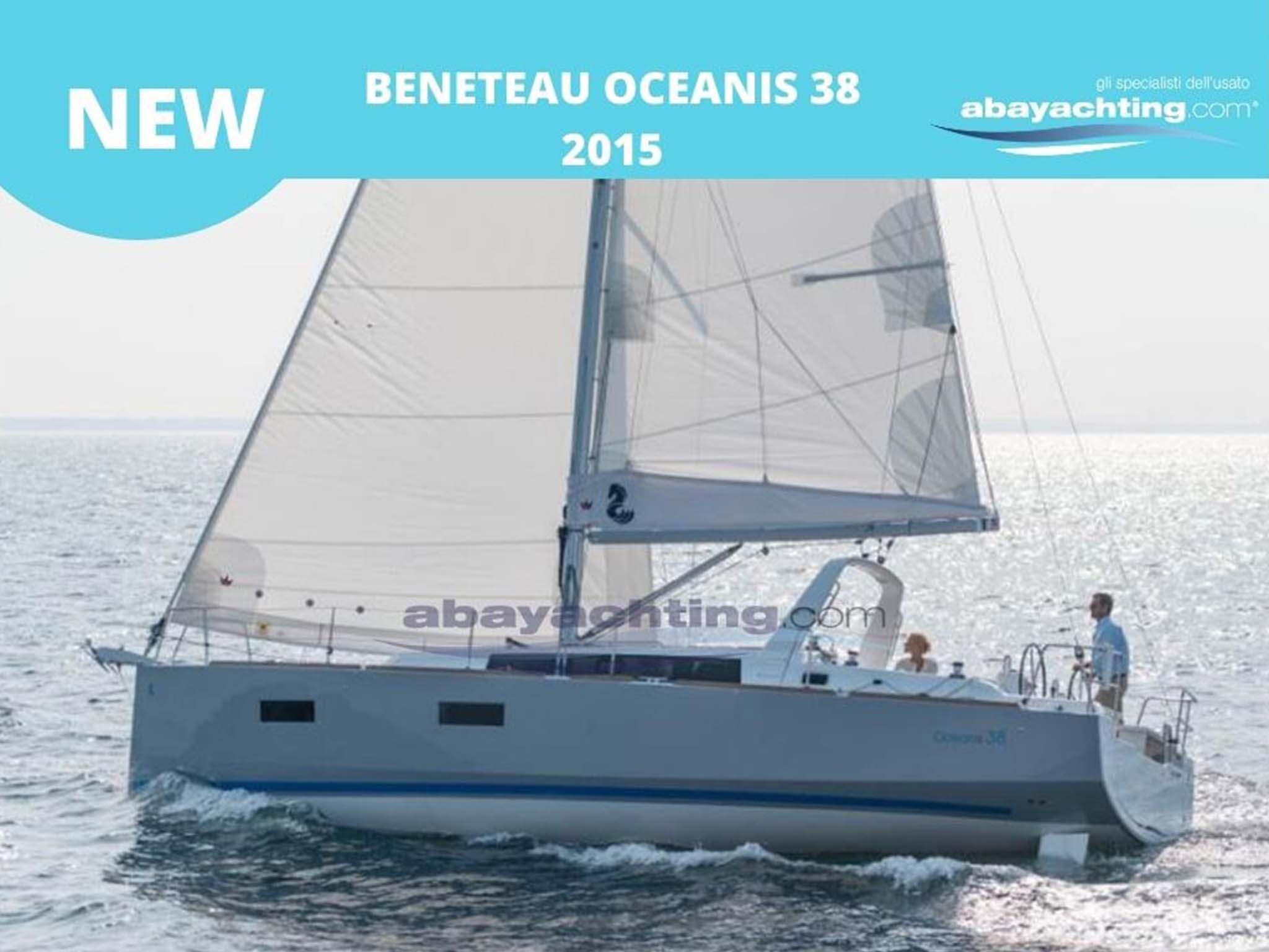 New arrival Beneteau Oceanis 38
