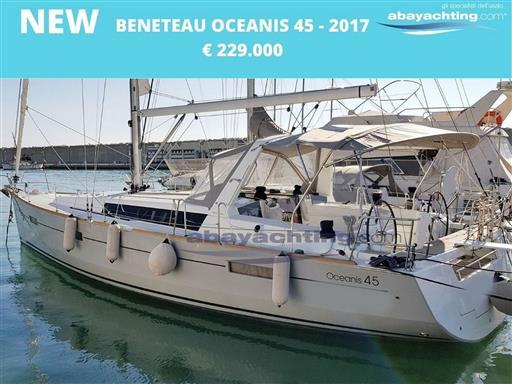 New arrival Beneteau Oceanis 45