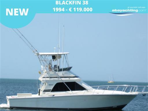 New arrival Blackfin 38 Convertible