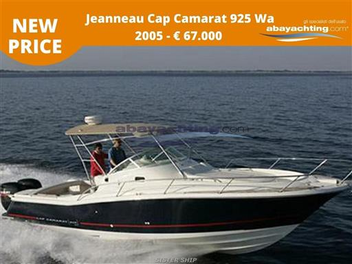 New price Jeanneau Cap Camarat 925