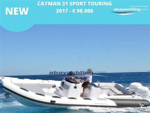 New arrival Cayman 31 Sport Touring
