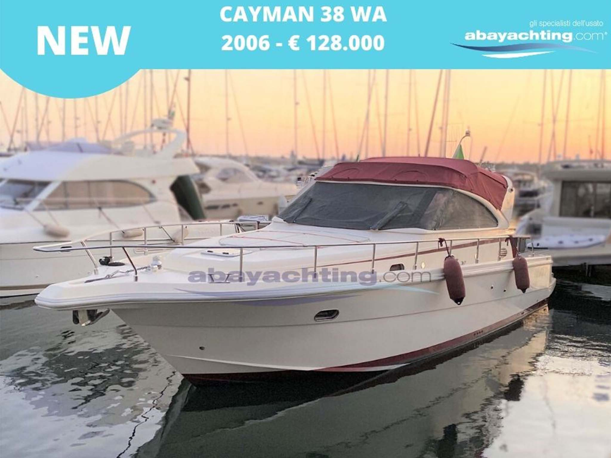 New arrival Cayman 38 WA
