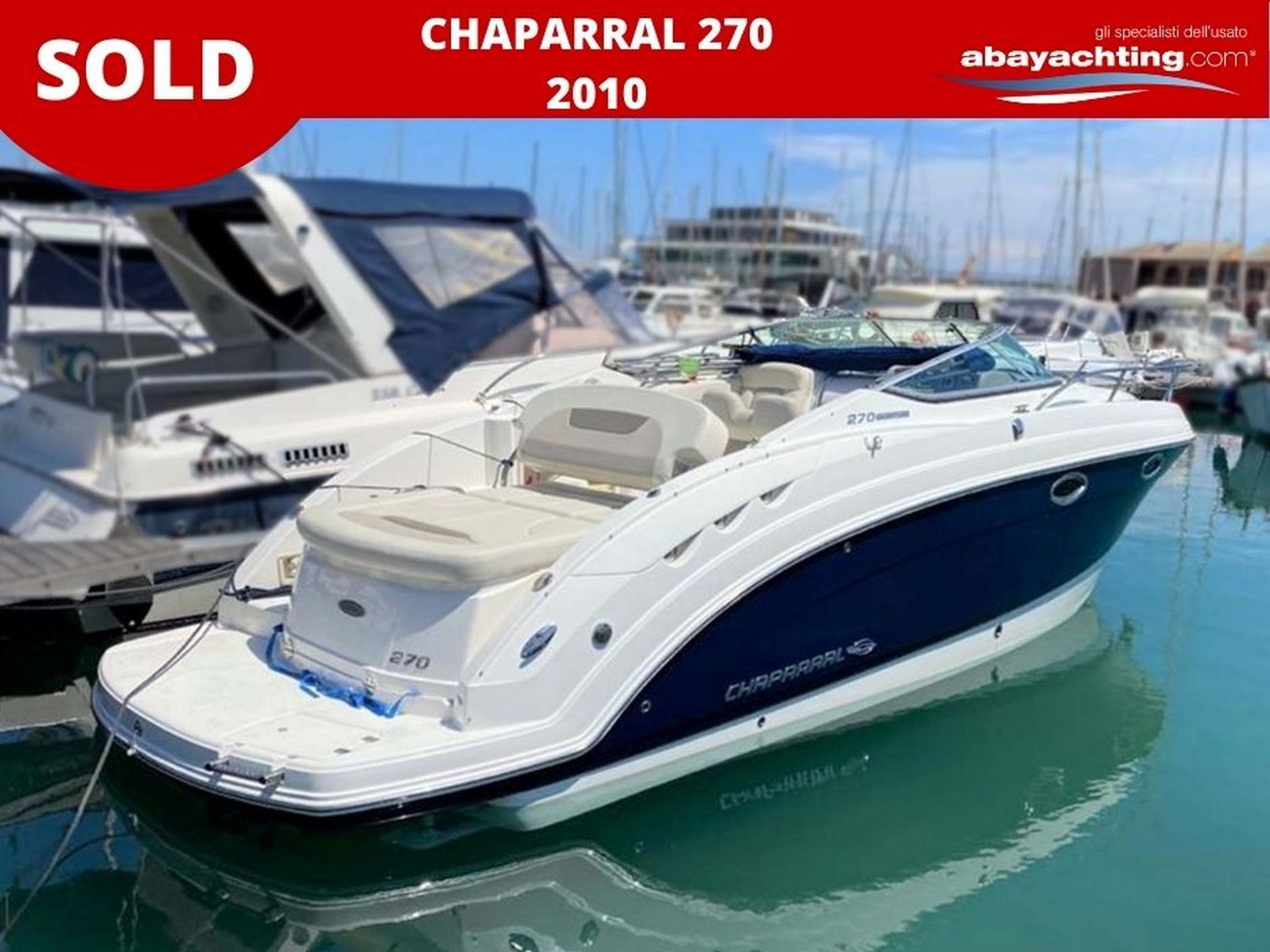 Chaparral 270 year 2010 sold