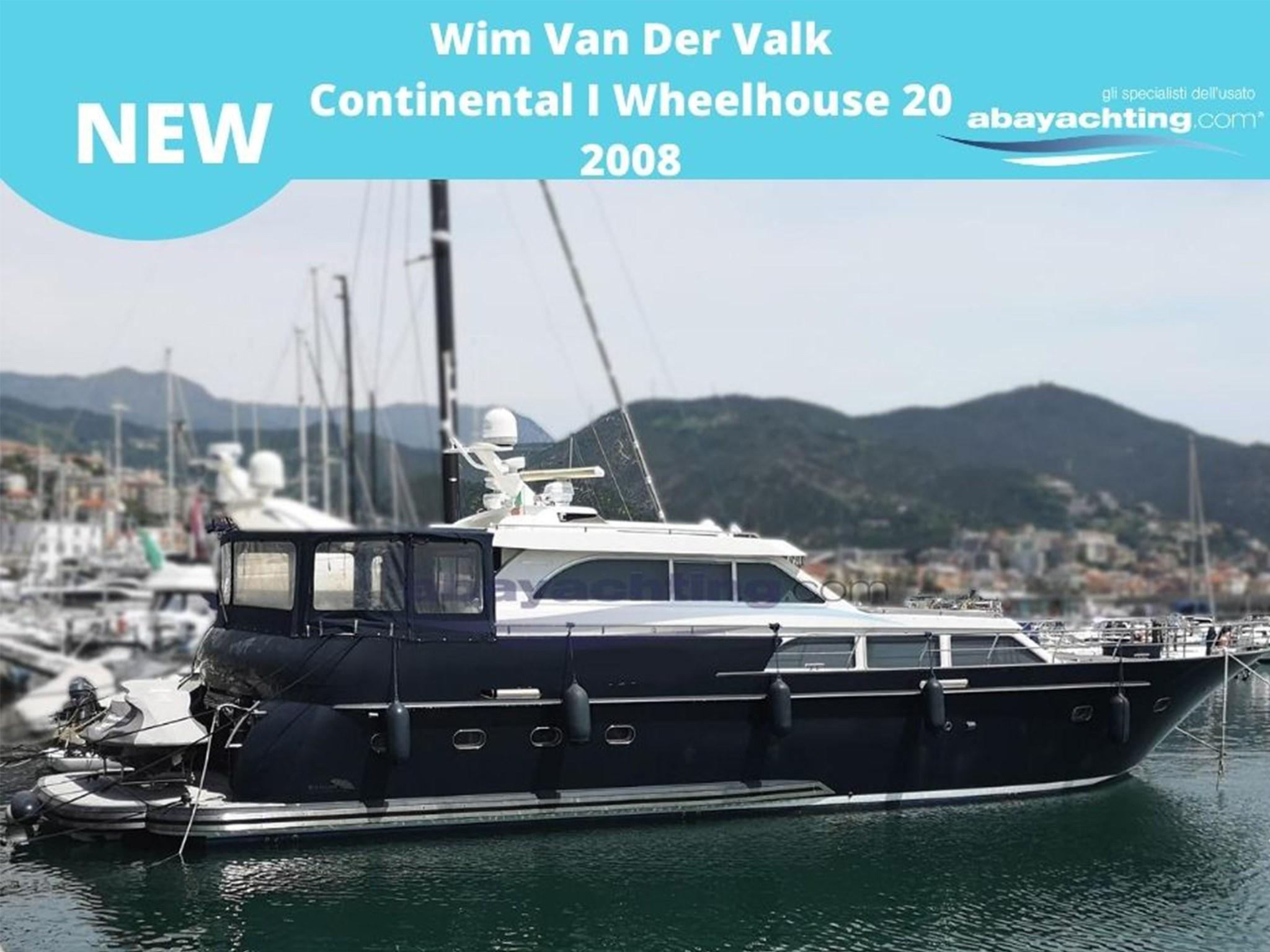 New arrival Wim Van Der Valk Continental I Wheelhouse - 20.00