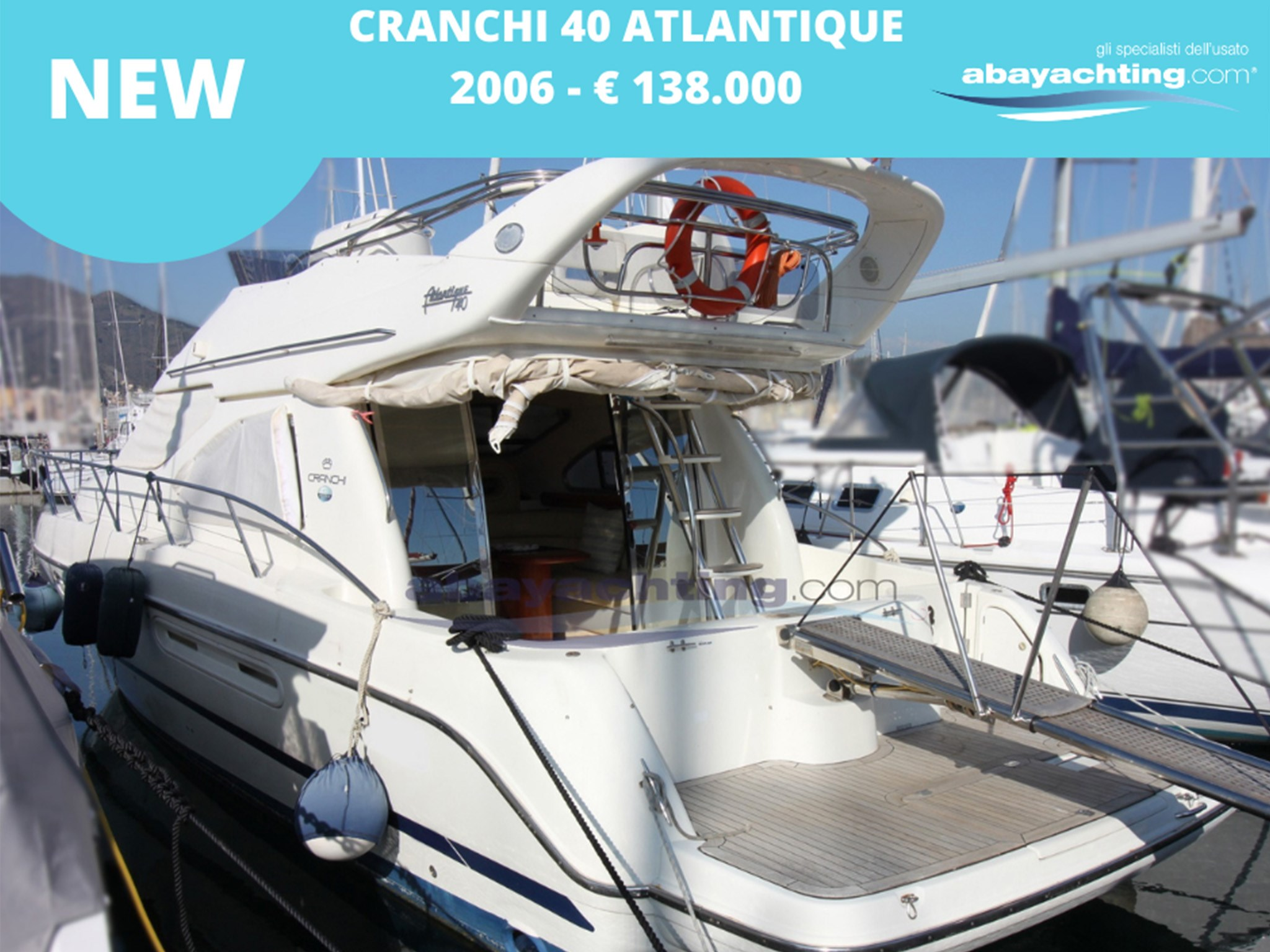 New arrival Cranchi 40 Atlantique