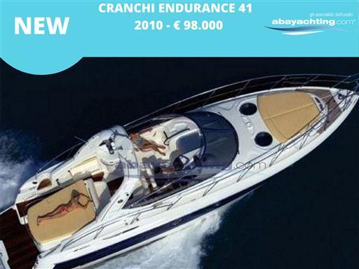 New arrival Cranchi Endurance 41