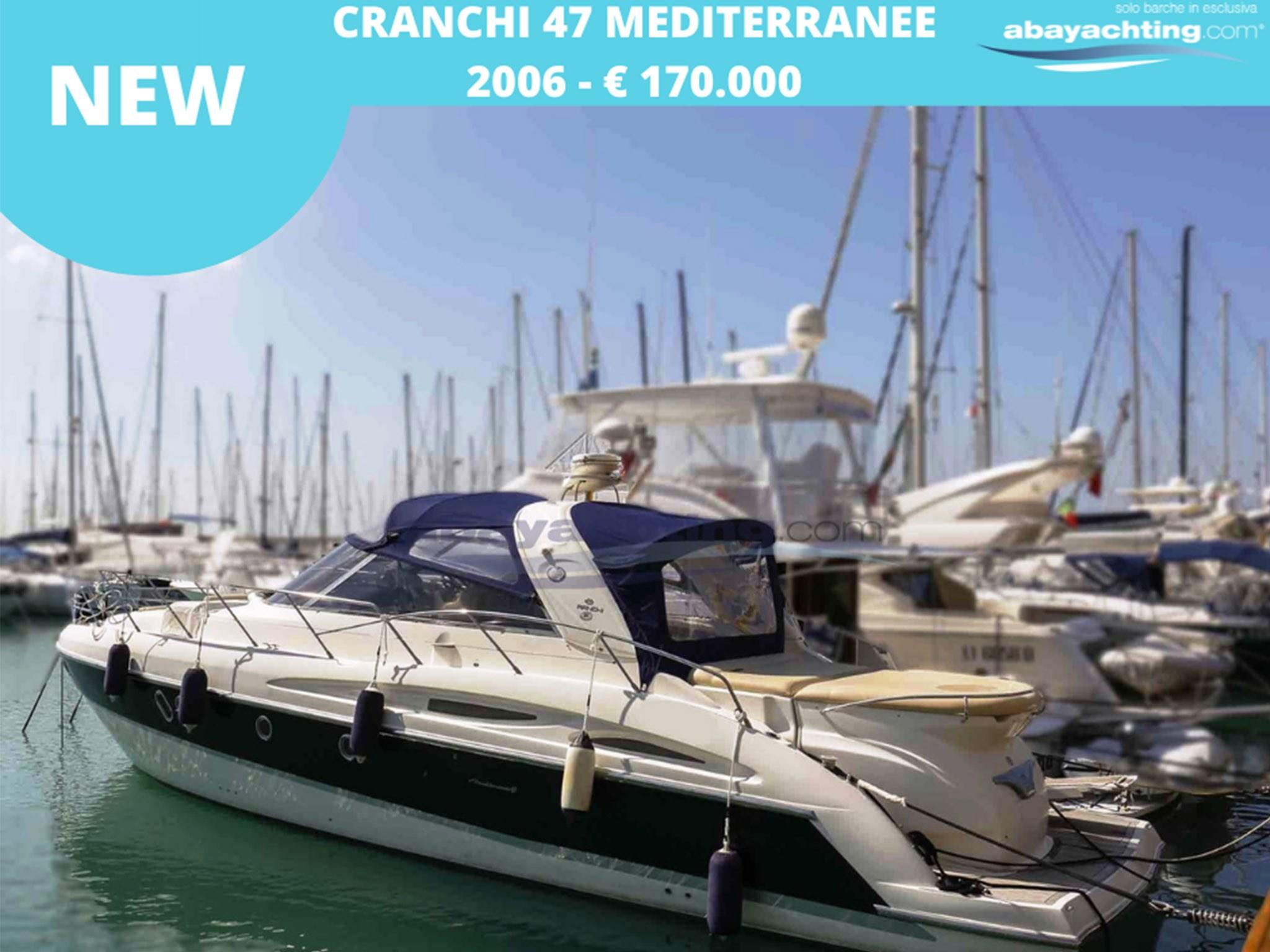 New arrival Cranchi 47 Mediterranee