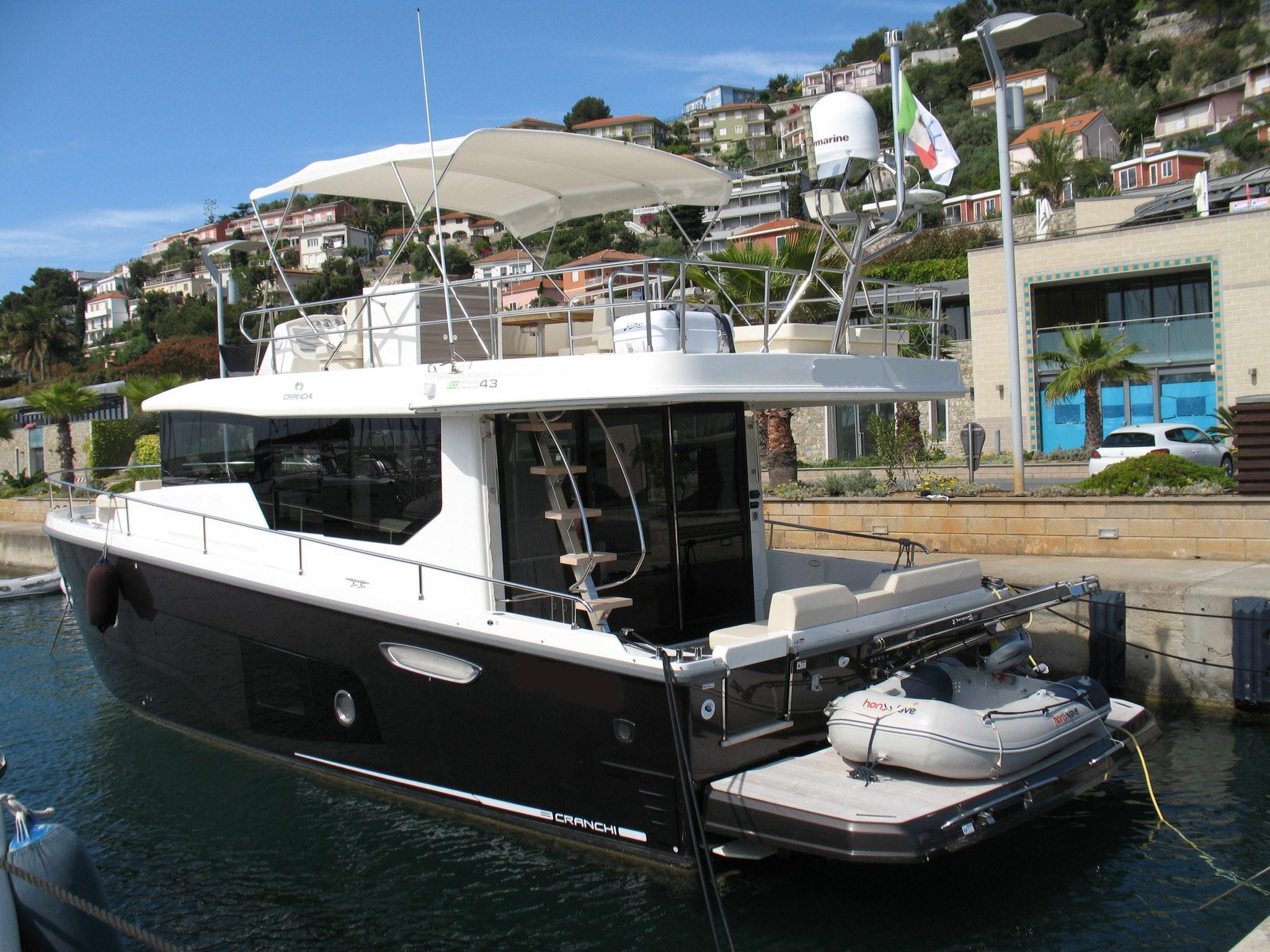 New arrival Cranchi 43 Eco Trawler