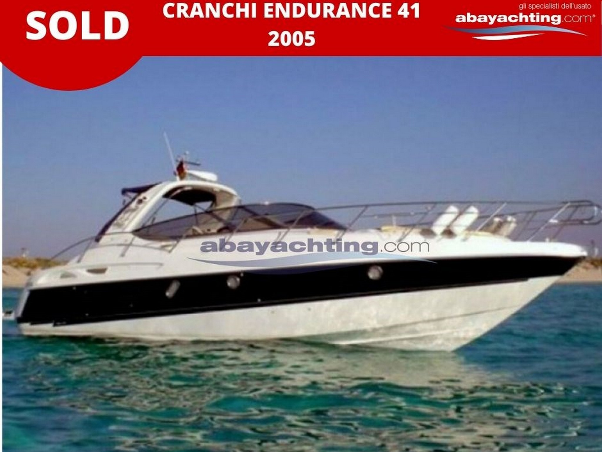 Cranchi Endurance 41 sold