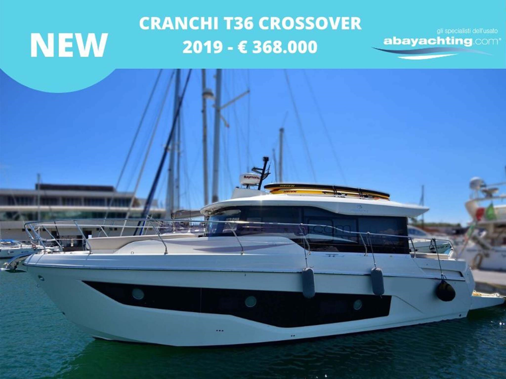 New arrival Cranchi T36 Crossover
