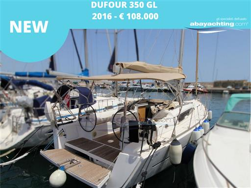 New arrival Dufour 350 GL