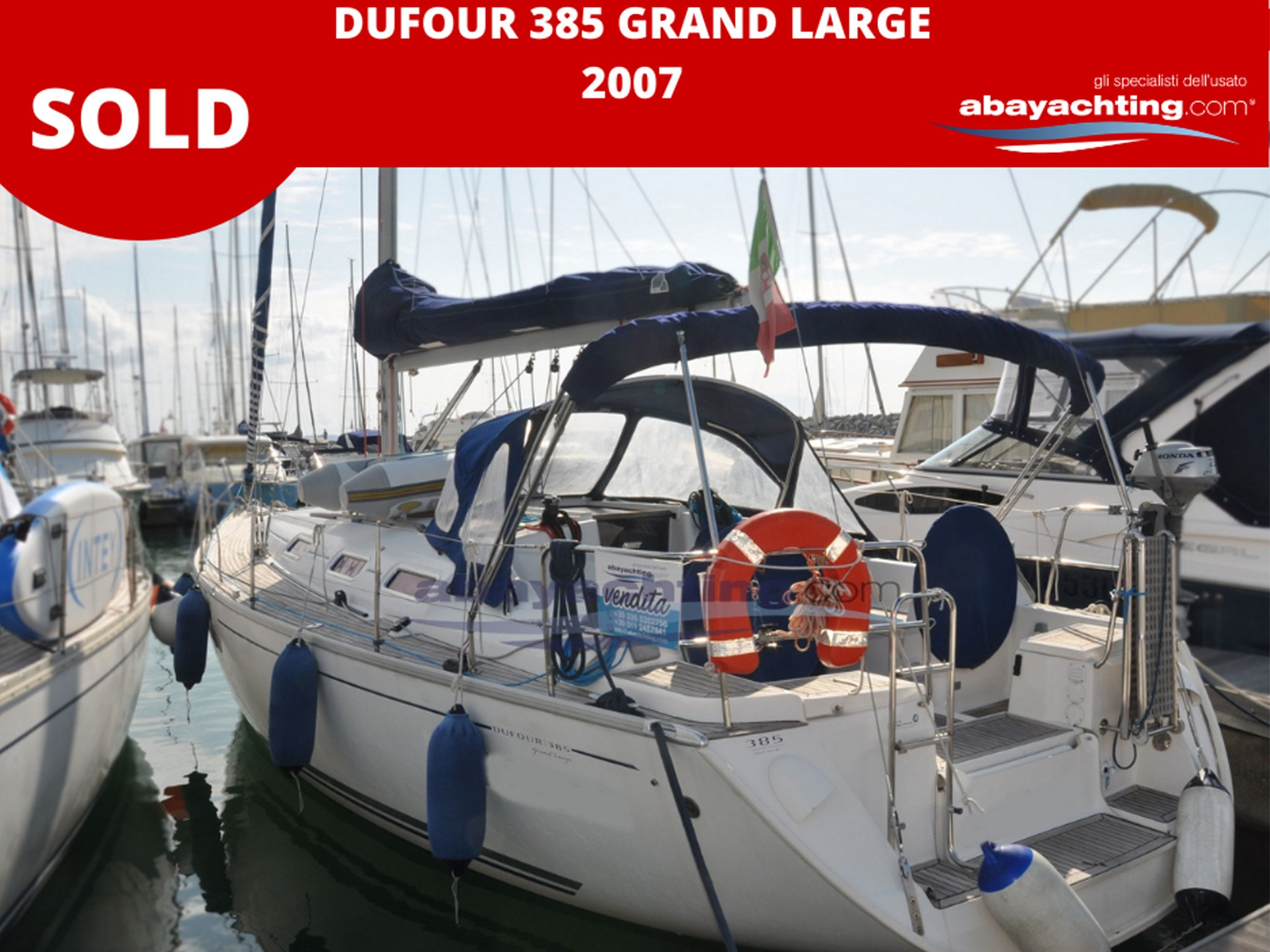 Dufour 385 Grand Large vendu
