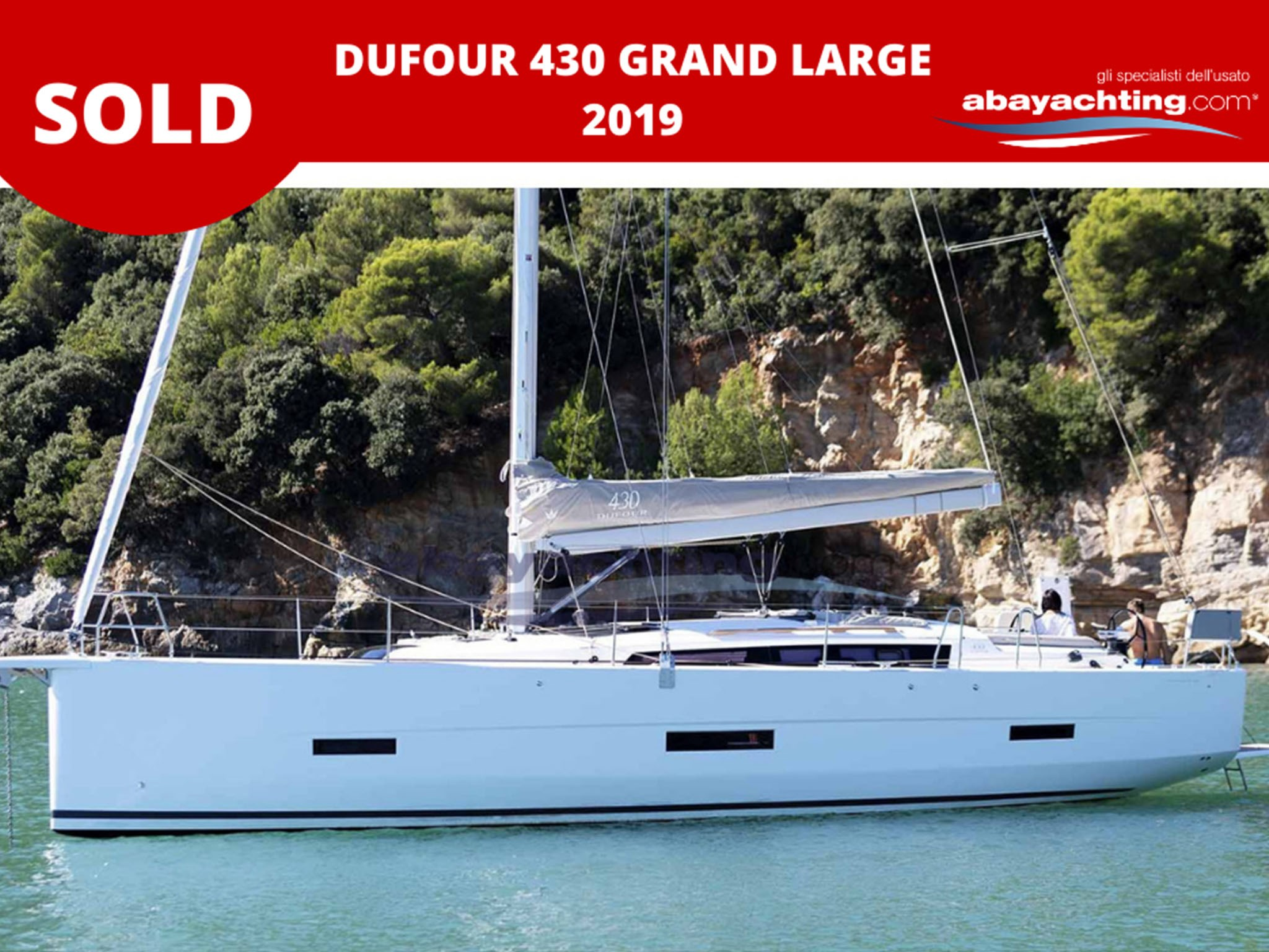 Dufour 430 sold