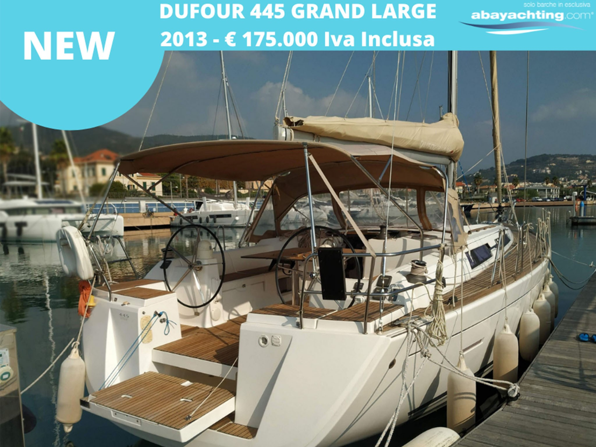 New arrival Dufour 445 Grand Large