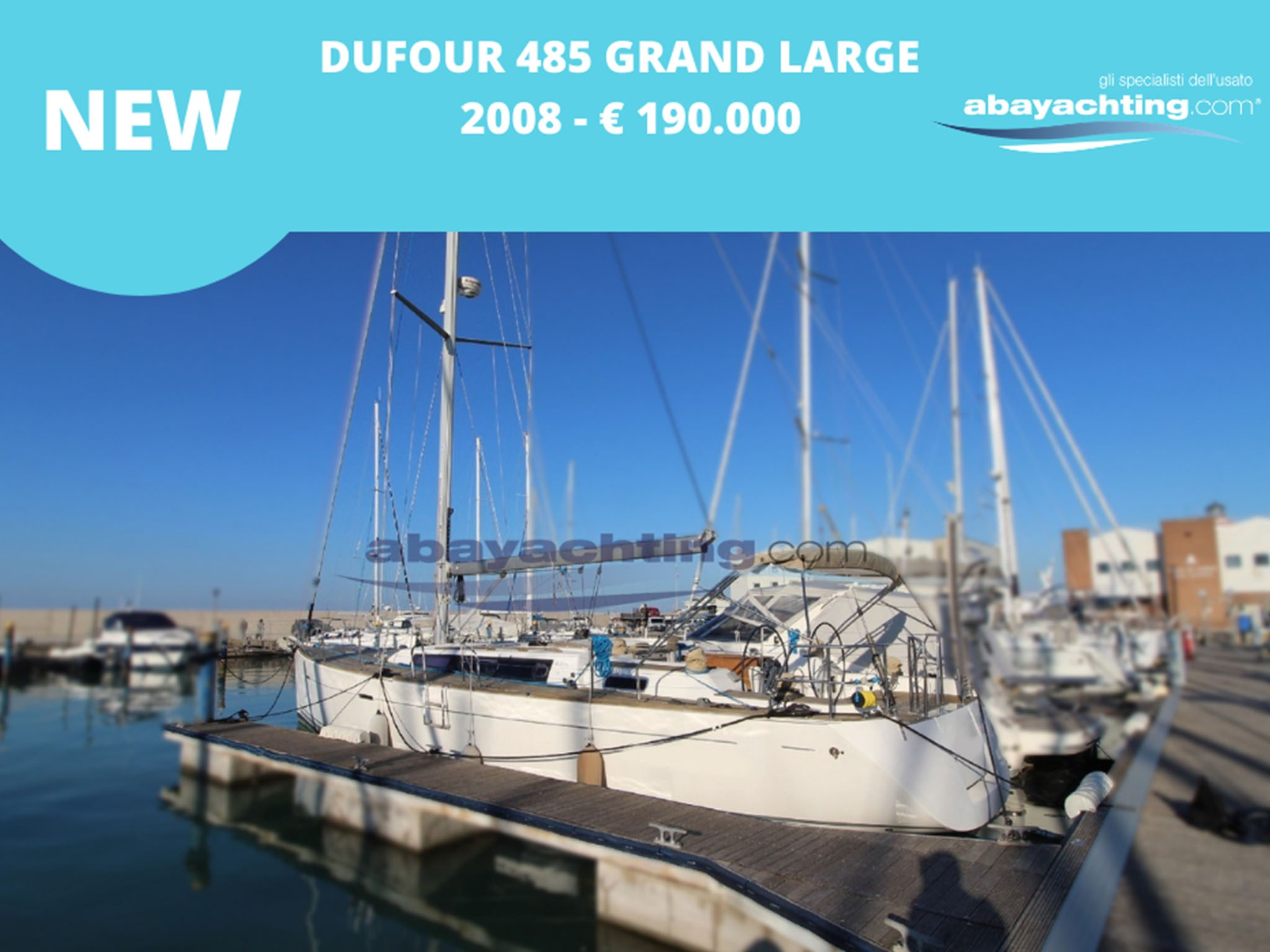 New arrival Dufour 485 Grand Large