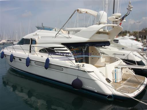 New arrival Fairline Squadron 55