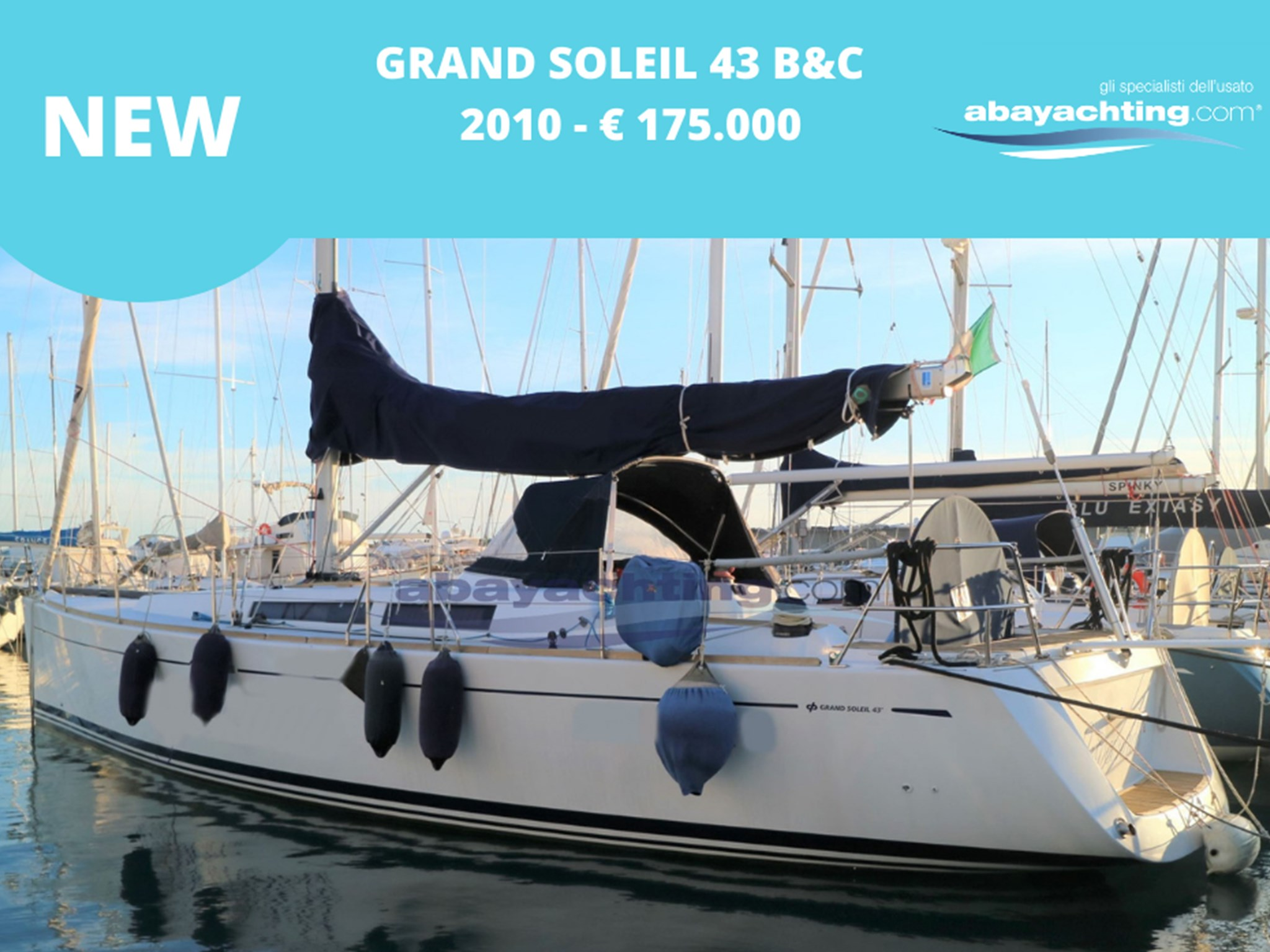 New arrival Grand Soleil 43 B&C