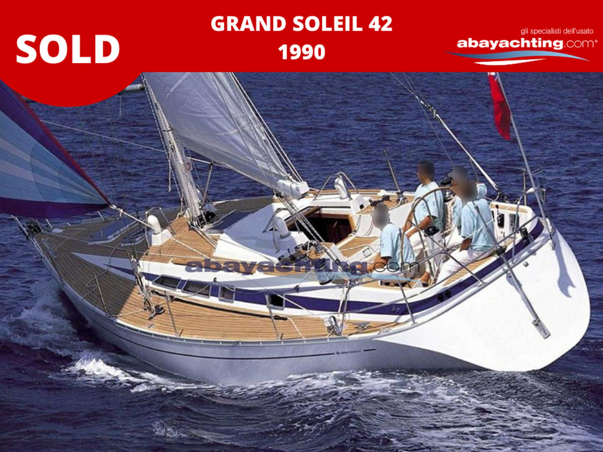 Grand Soleil 42 sold