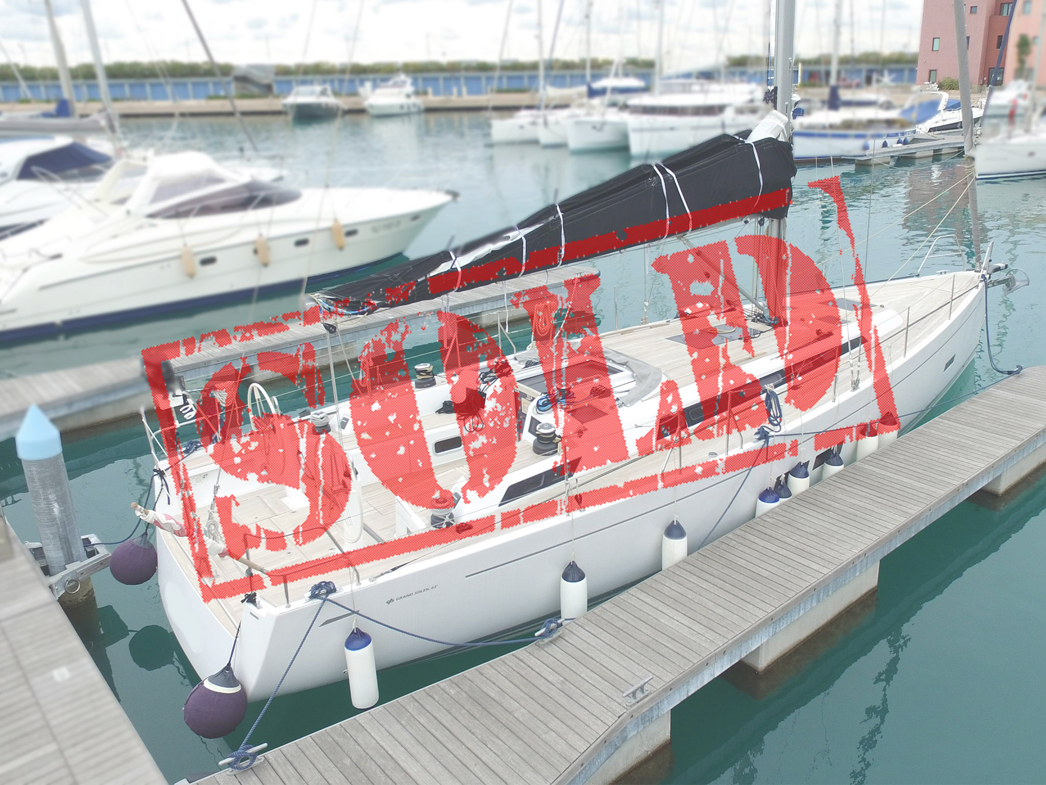 Grand Soleil 43 Maletto sold