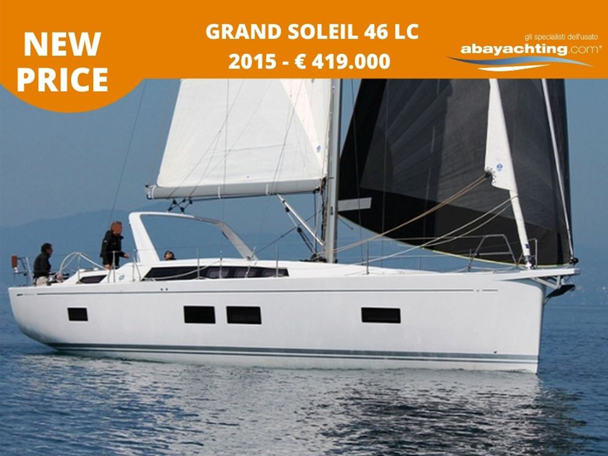 New price Grand Soleil 46 LC