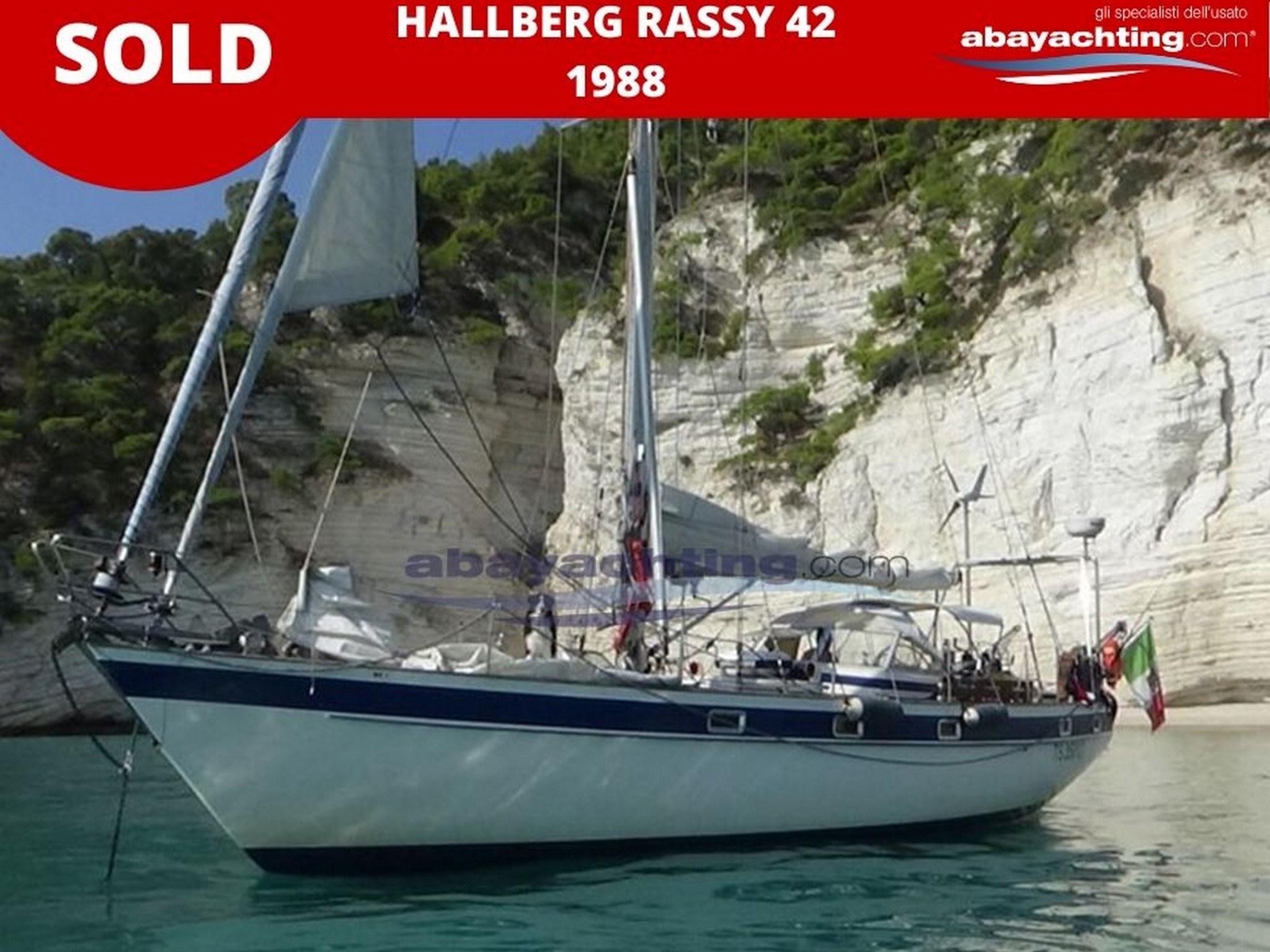 hallberg Rassy 42 sold