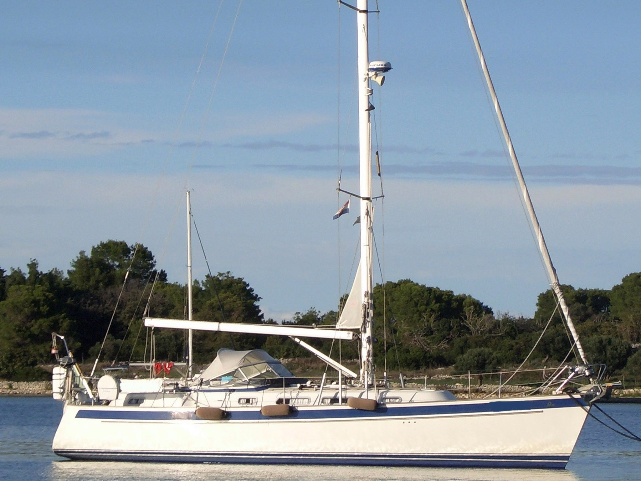Price reduction Hallberg-Rassy 40