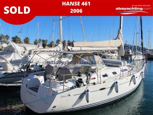 Hanse 461 sold