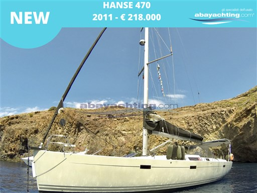 New arrival Hanse 470