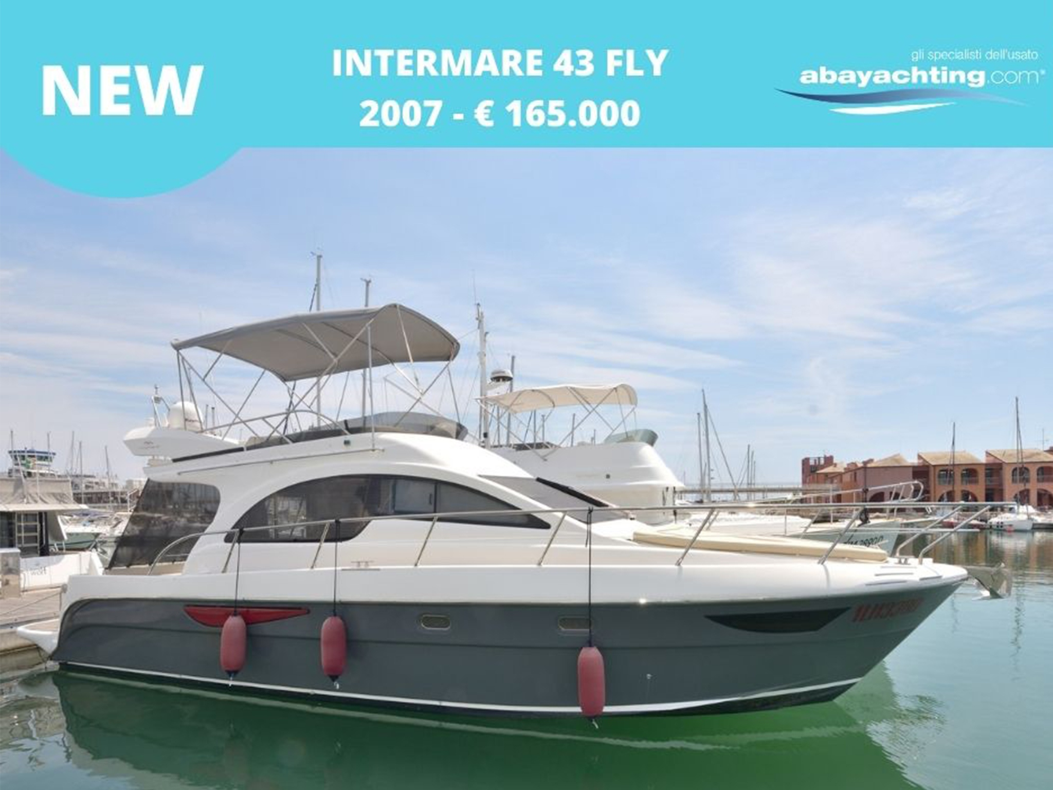 New arrival Intermare 43 Fly