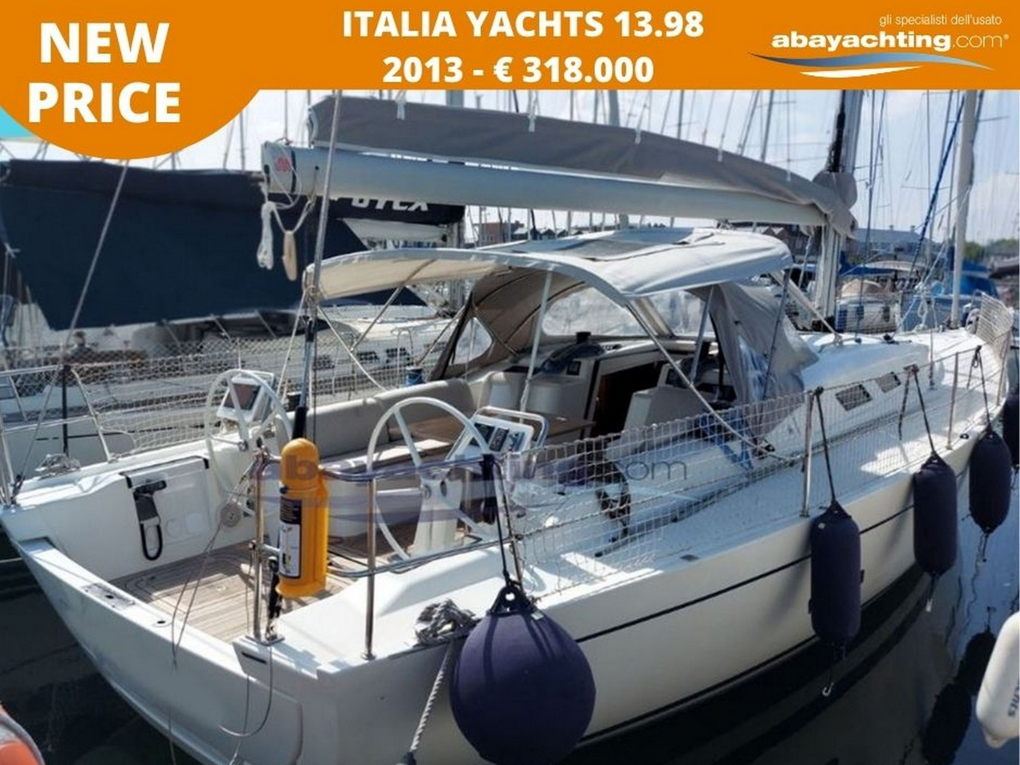 New price Italia Yachts 13.98