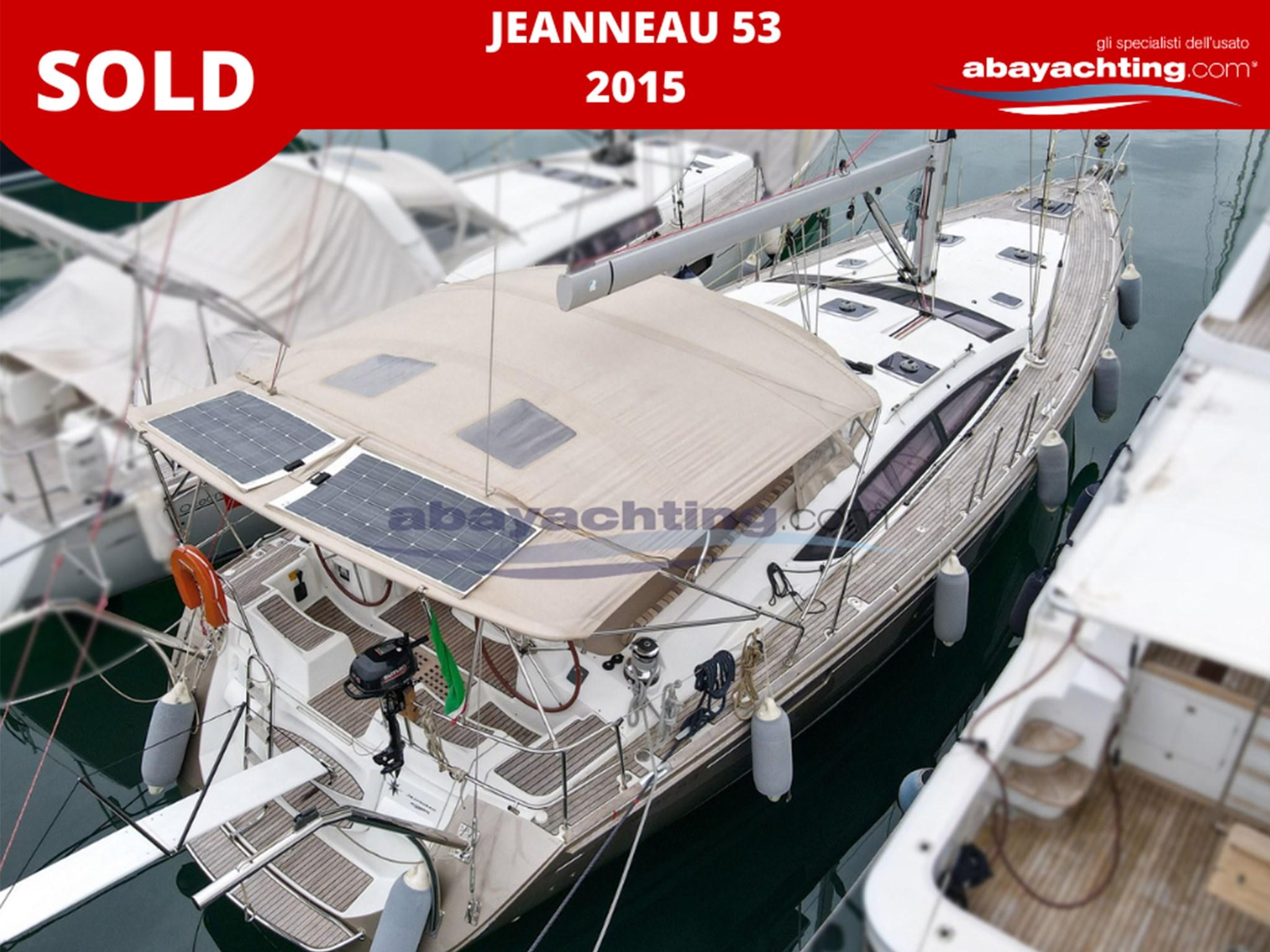 Jeanneau 53 2015 sold