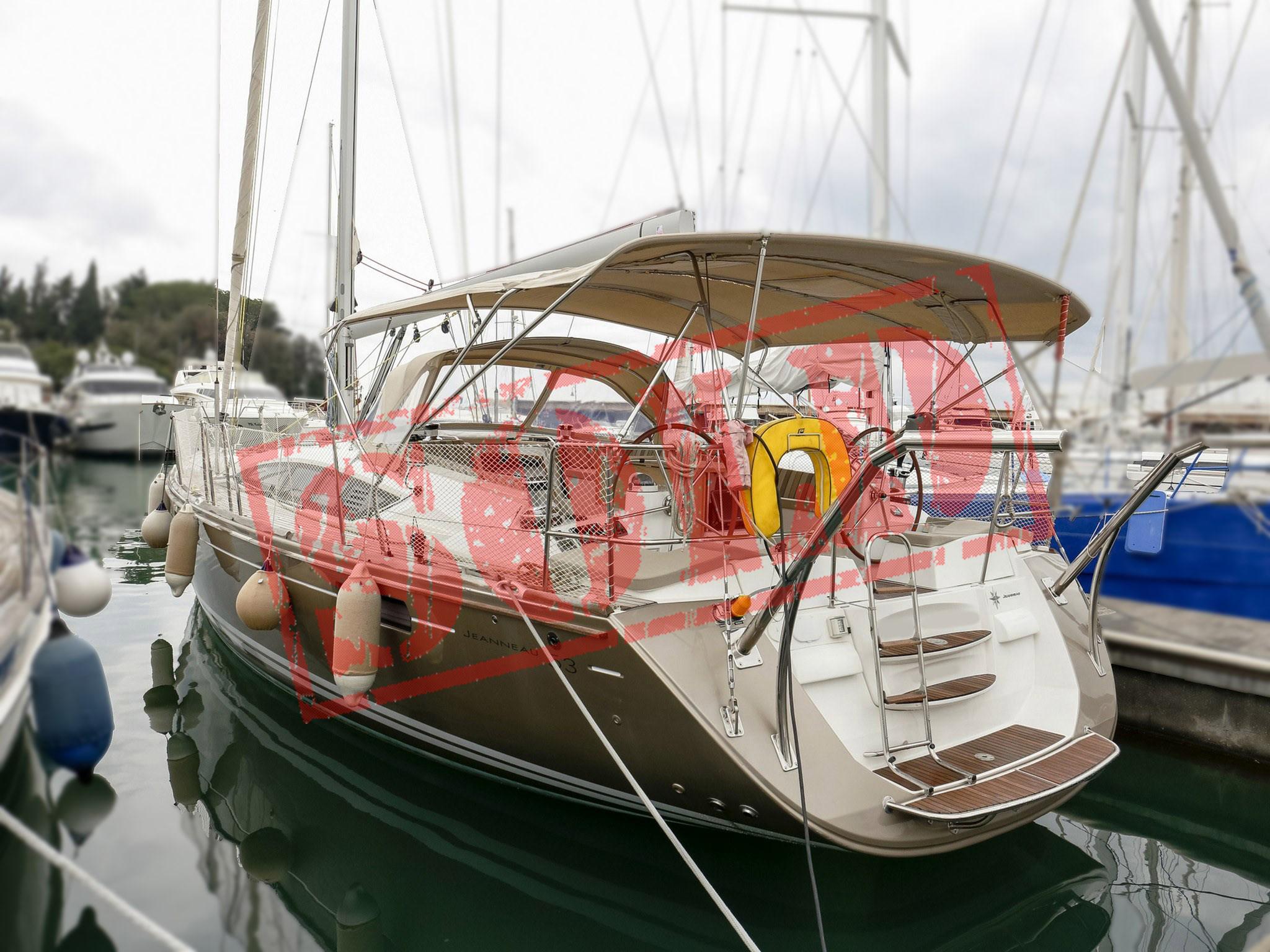 Jeanneau 53 sold