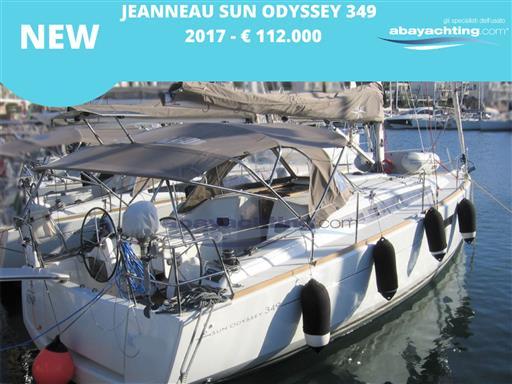 New arrival Jeanneau Sun Odyssey 349
