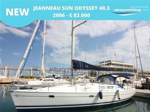 New arrival Jeanneau Sun Odyssey 40.3