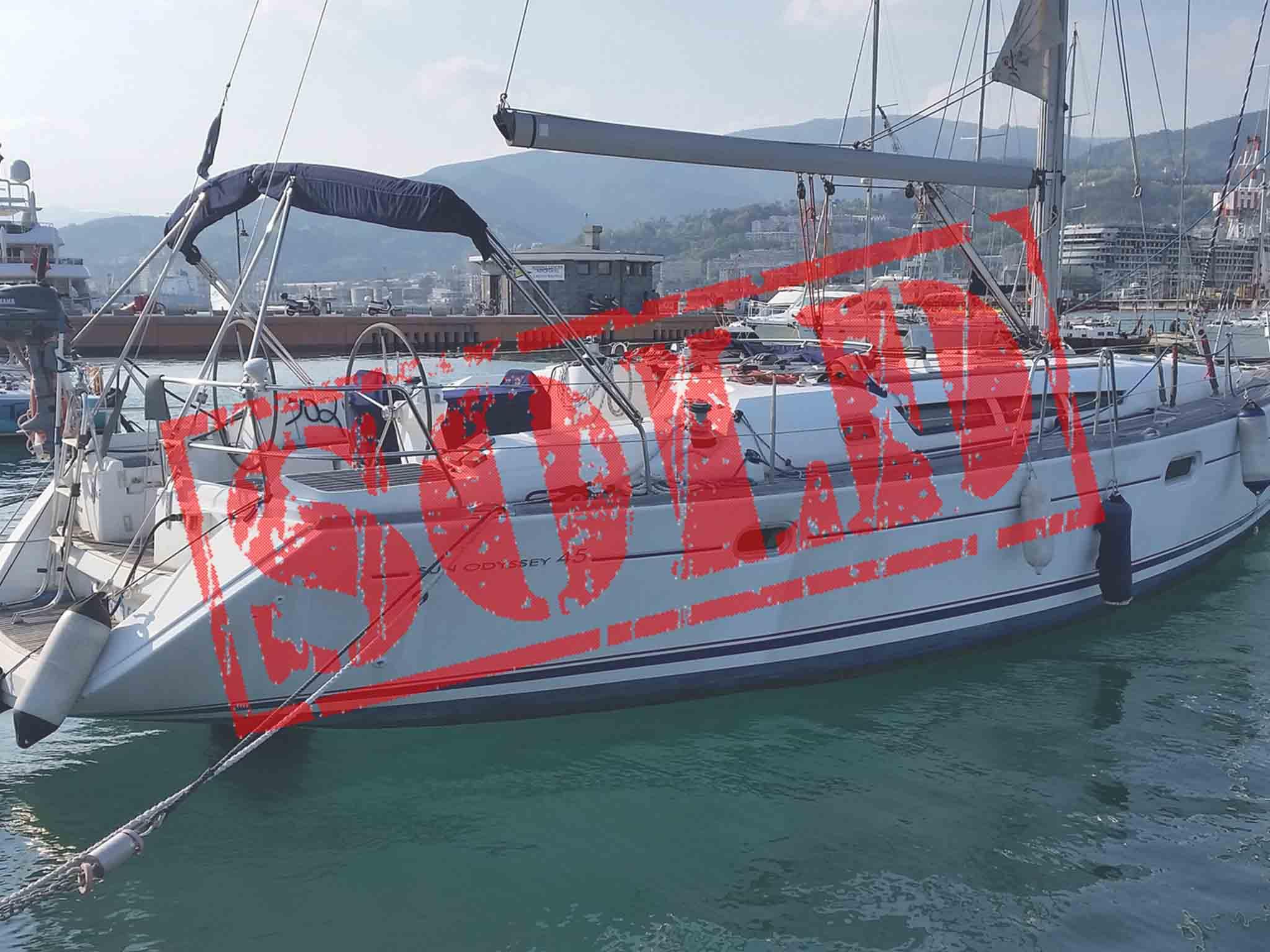 Jeanneau Sun Odyssey 45 venduto