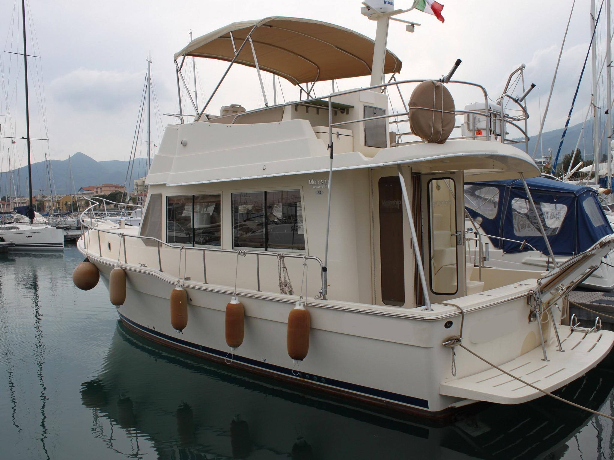 Riduzione di prezzo Mainship Trawler 34