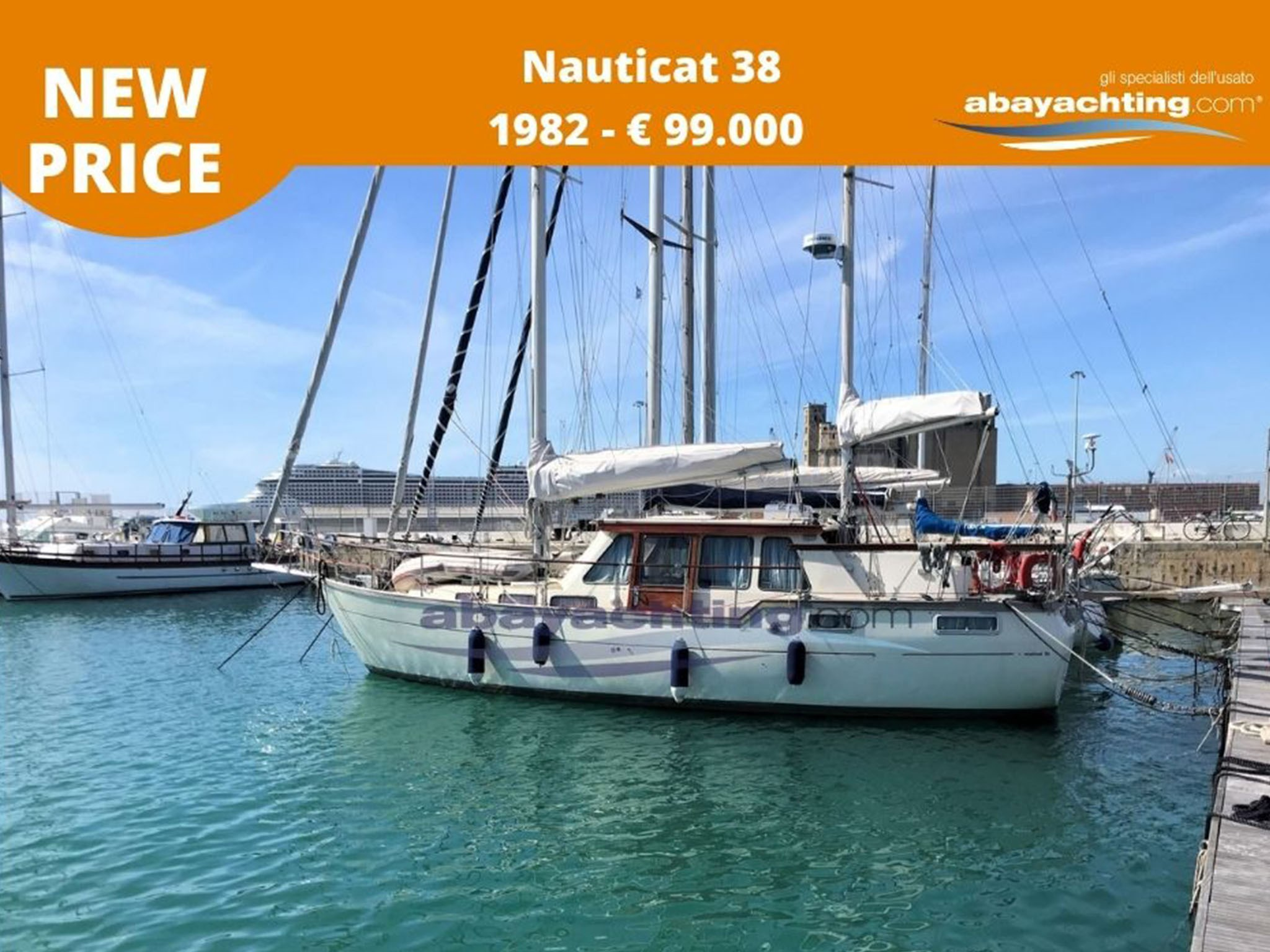 New price Nauticat 38