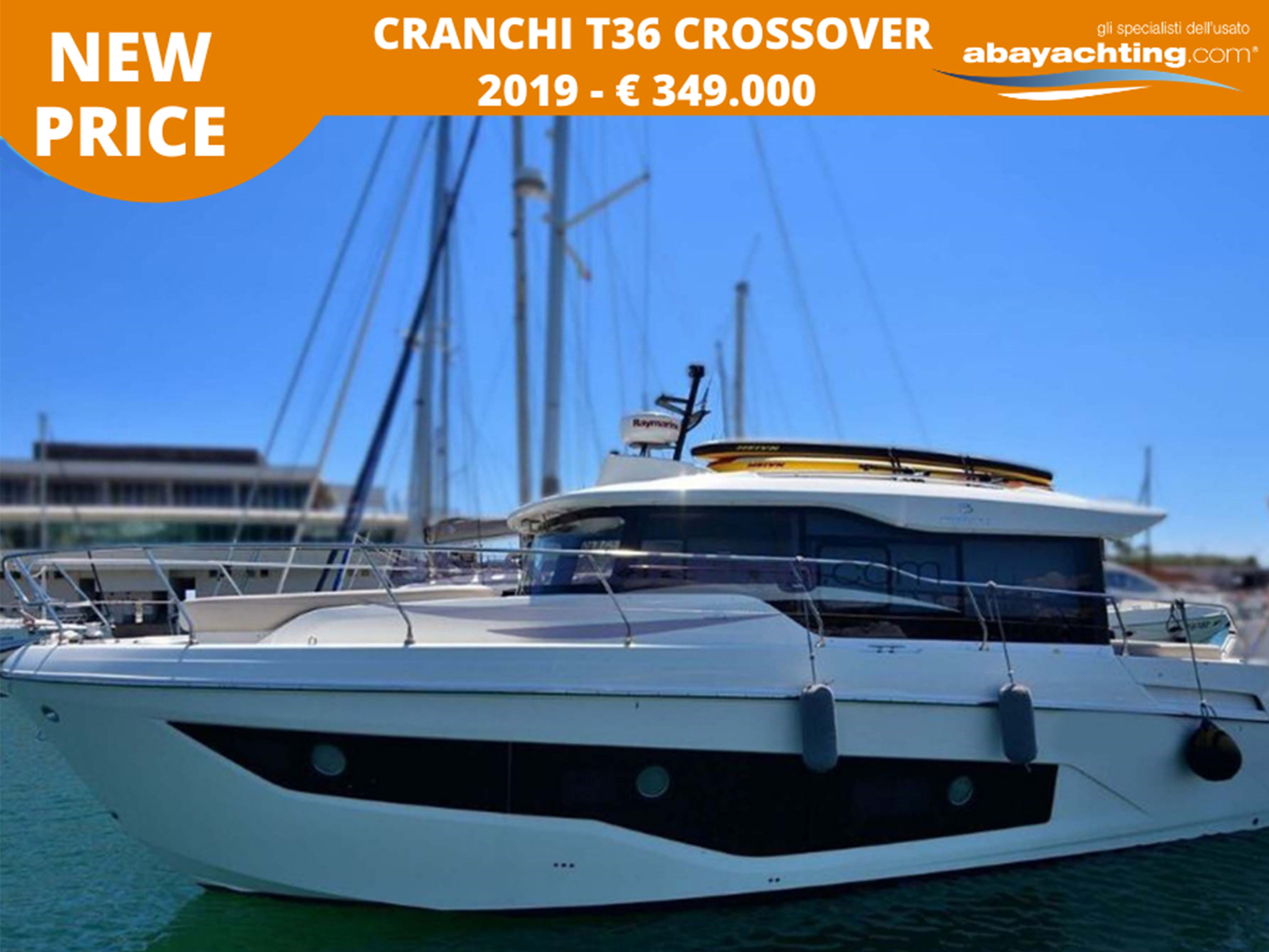 Price reduction Cranchi T36 Crossover