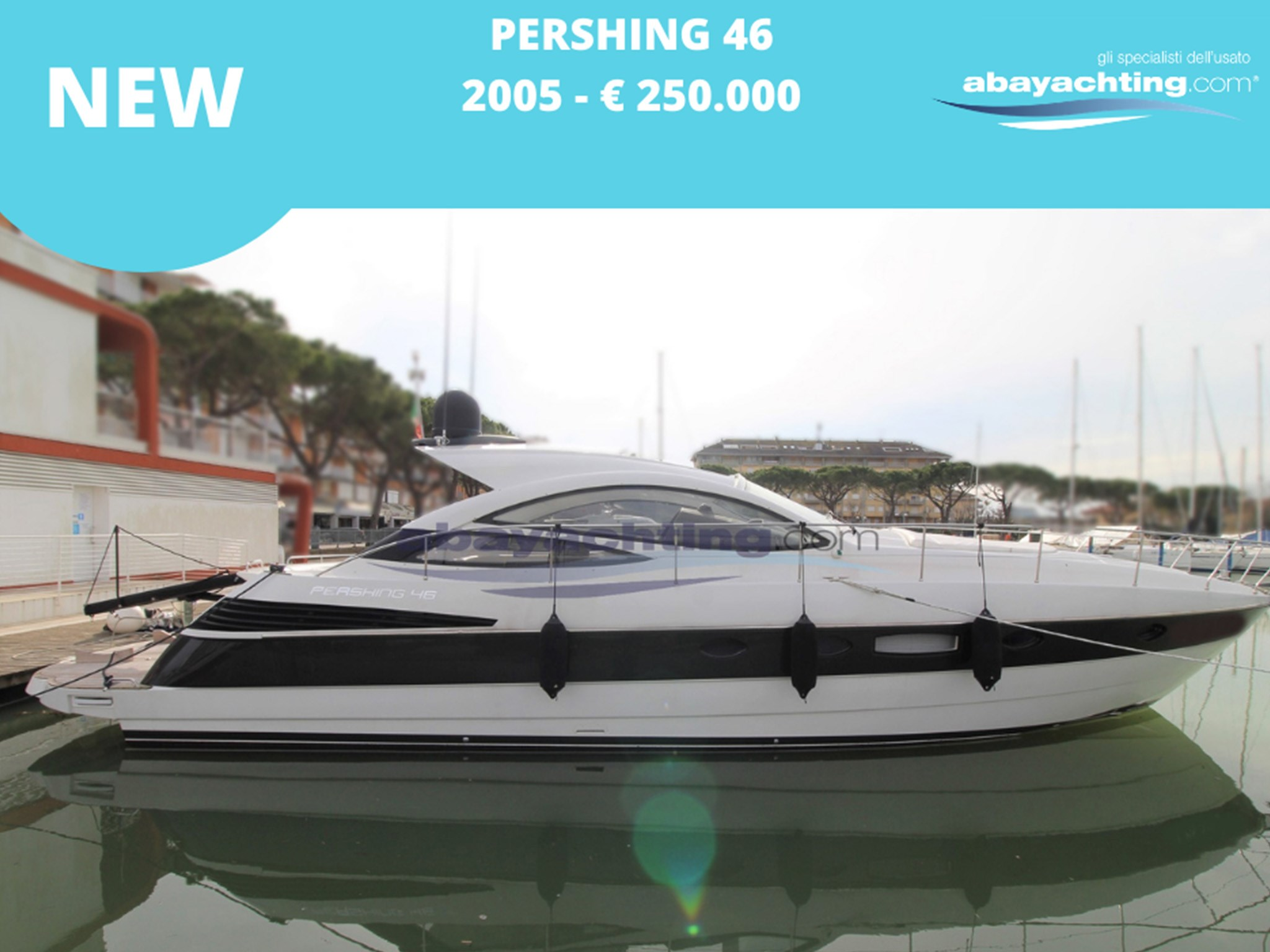 New arrival Pershing 46